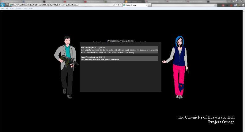 Full screen image of updated stylesheet.