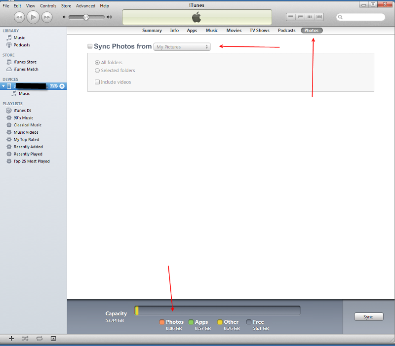iTunes-Photo-Sync