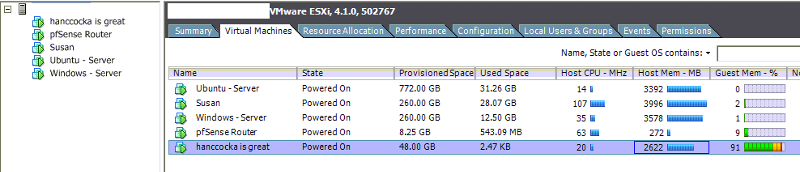 Memory Usage Now