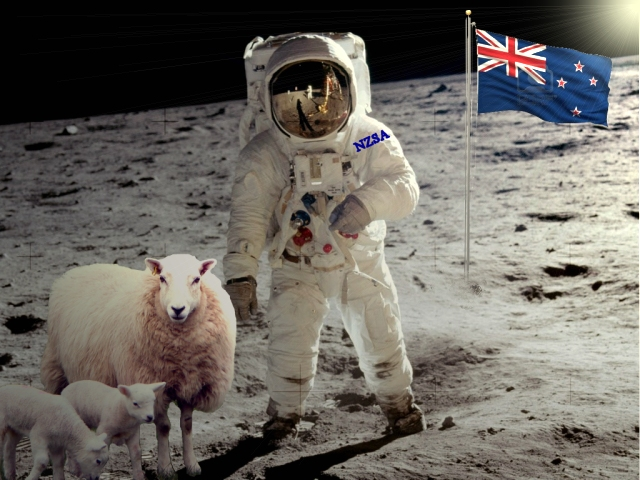 Artists Impression Of New Zealand Lunar Expedidion