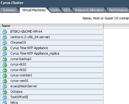 Copy to Clipboard - Create a VM List