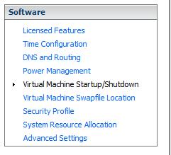 VMStart/Shutdown