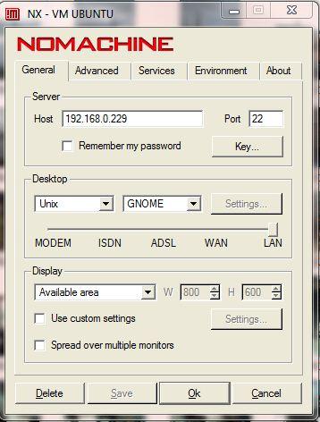 Configure: General