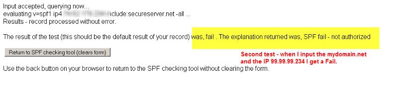 Kitterman Test 2 - Is this SPF record valid - syntactically correct?