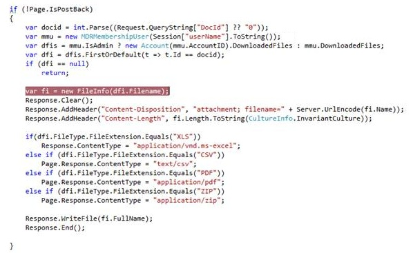 Download file asynchronously with ASP NET
