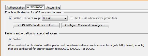 Limit a user from accessing ASDM on Cisco ASA 5510
