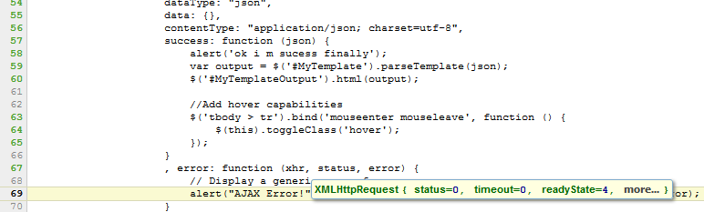 Error in return Json data from WCF using Jquery