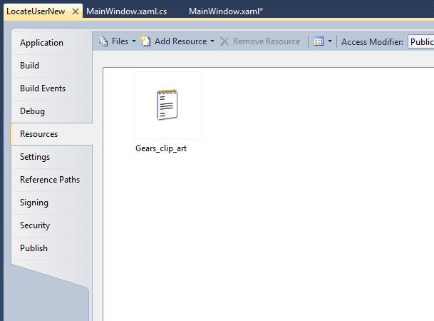 Adding a xaml image to a button in WPF