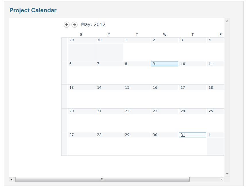 Embed a Sharepoint Calendar within Intranet Webpage