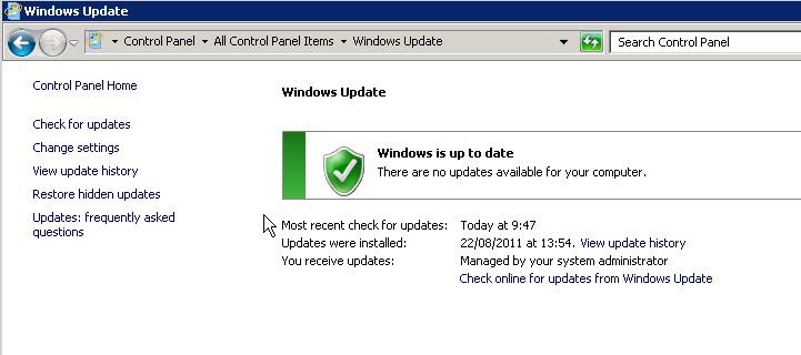 windowsupdateoncomputer