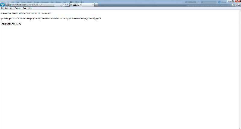 Browser Error