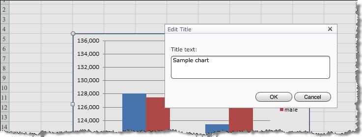 Manipulate chart elements