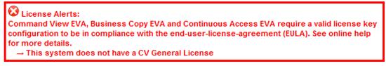 License Alert