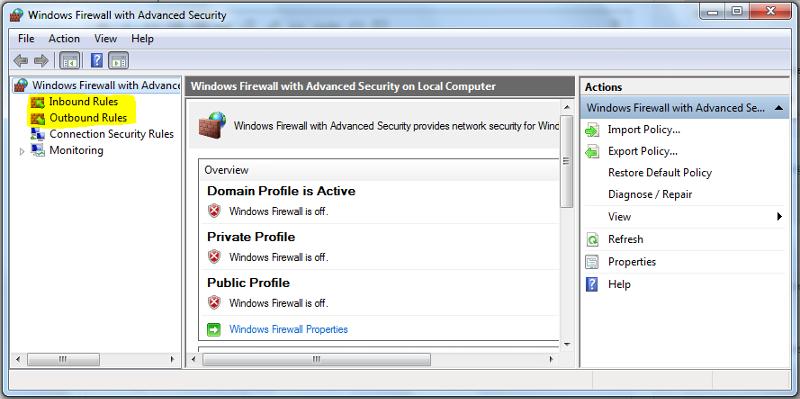Firewall 1