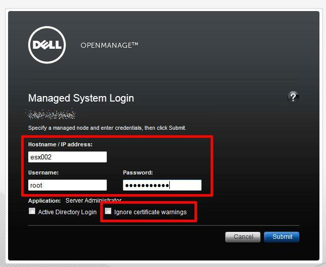 Enter Hostname and IP Address