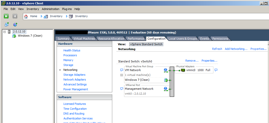 VMware ESXi - Guest OS can ping out, but no browser access