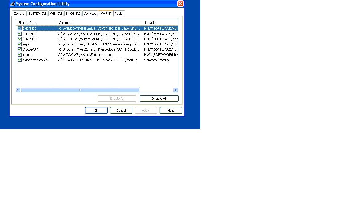 Windows XP - Windows Search - I want my old dialog box back.