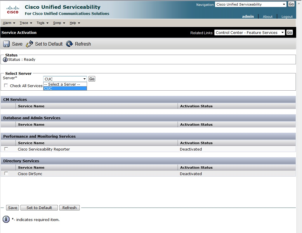 Cisco Unity Call Manager Reporting