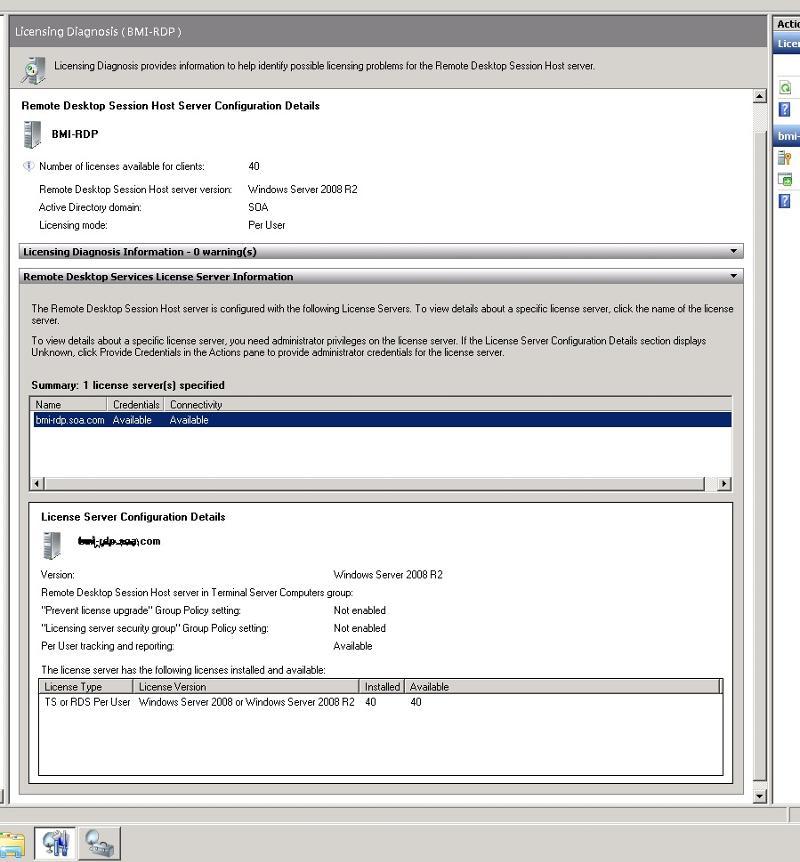 RDP conf screen shot