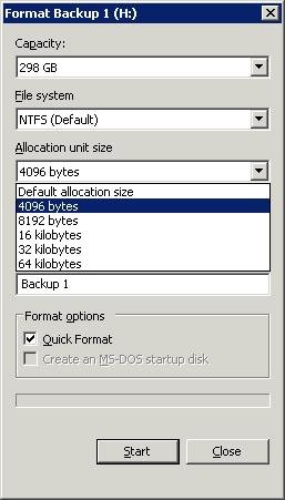 Server Format