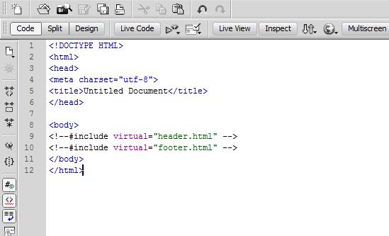 "Default ""no background"" color for server-side include codes"