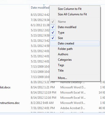 Screenshot sample.