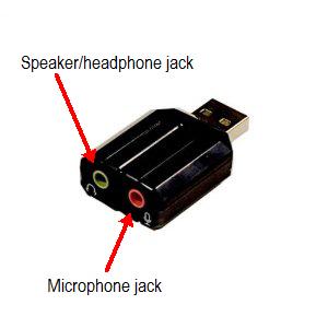 Syba USB stereo audio adapter