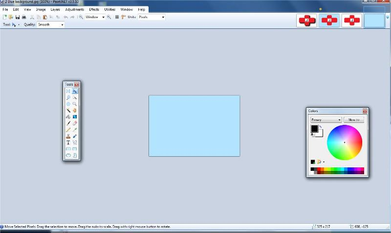 Add all images to Paint dot Net