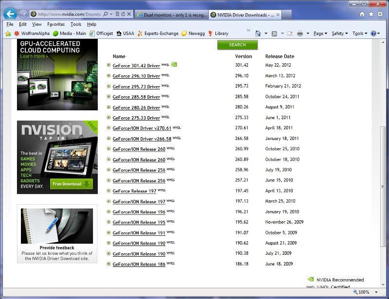 NVidia 6200 Drivers