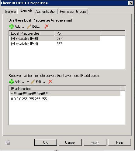ClientReceive Port