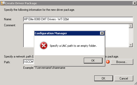 SOLUTION] Migrating Driver Packages from SCCM 2007 to SCCM 2012