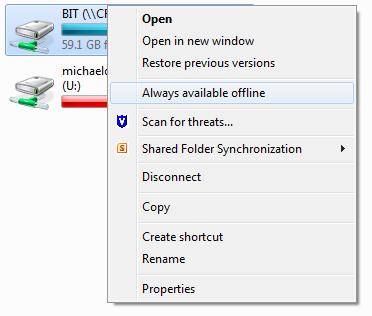 Offline Folders
