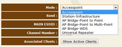Access Point Configuration