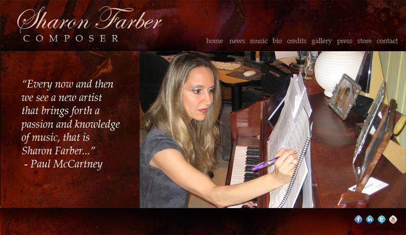 Sharon Farber home page