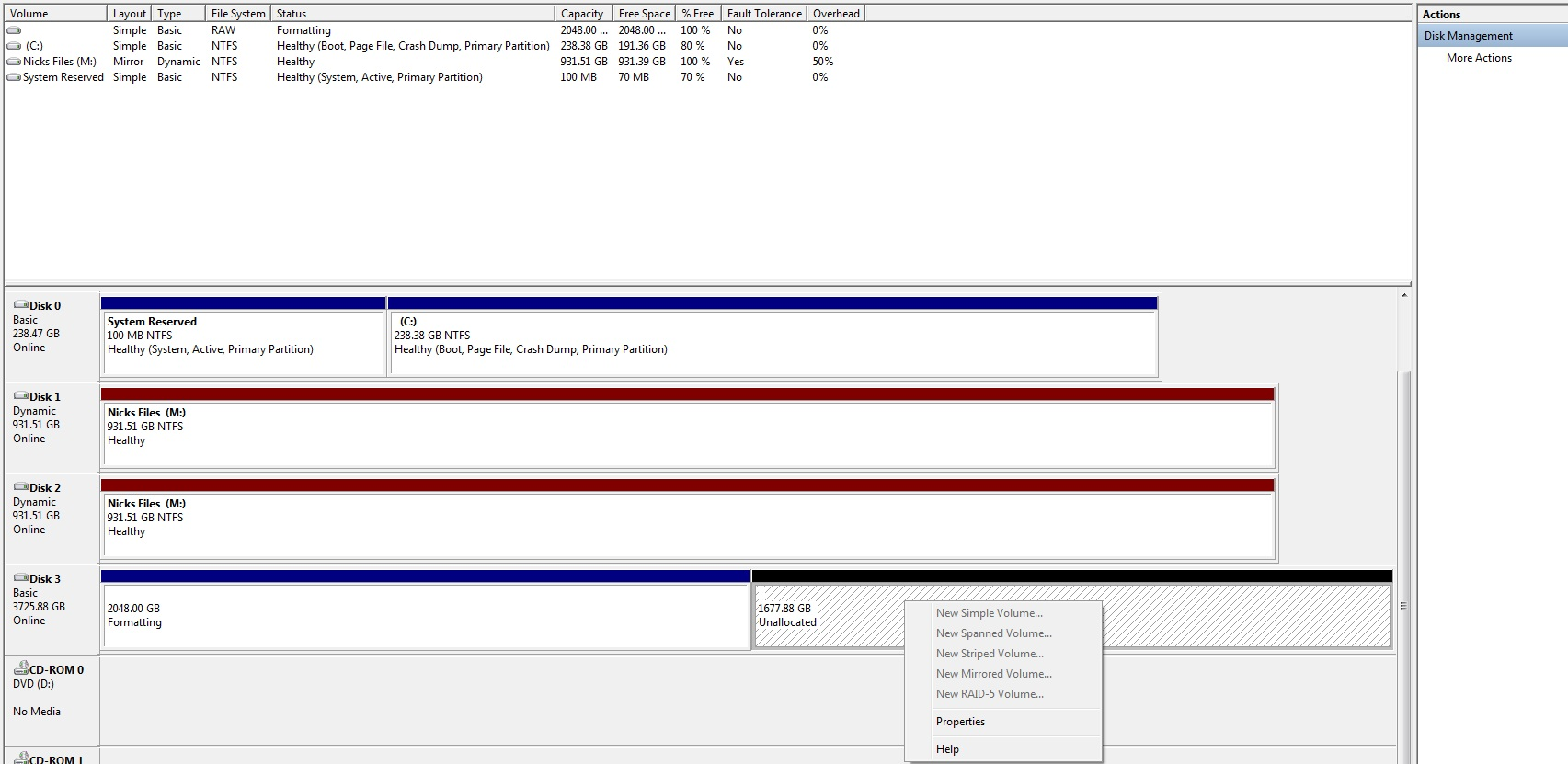 Setting up RAID 1 using Marvell SATA RAID Controller