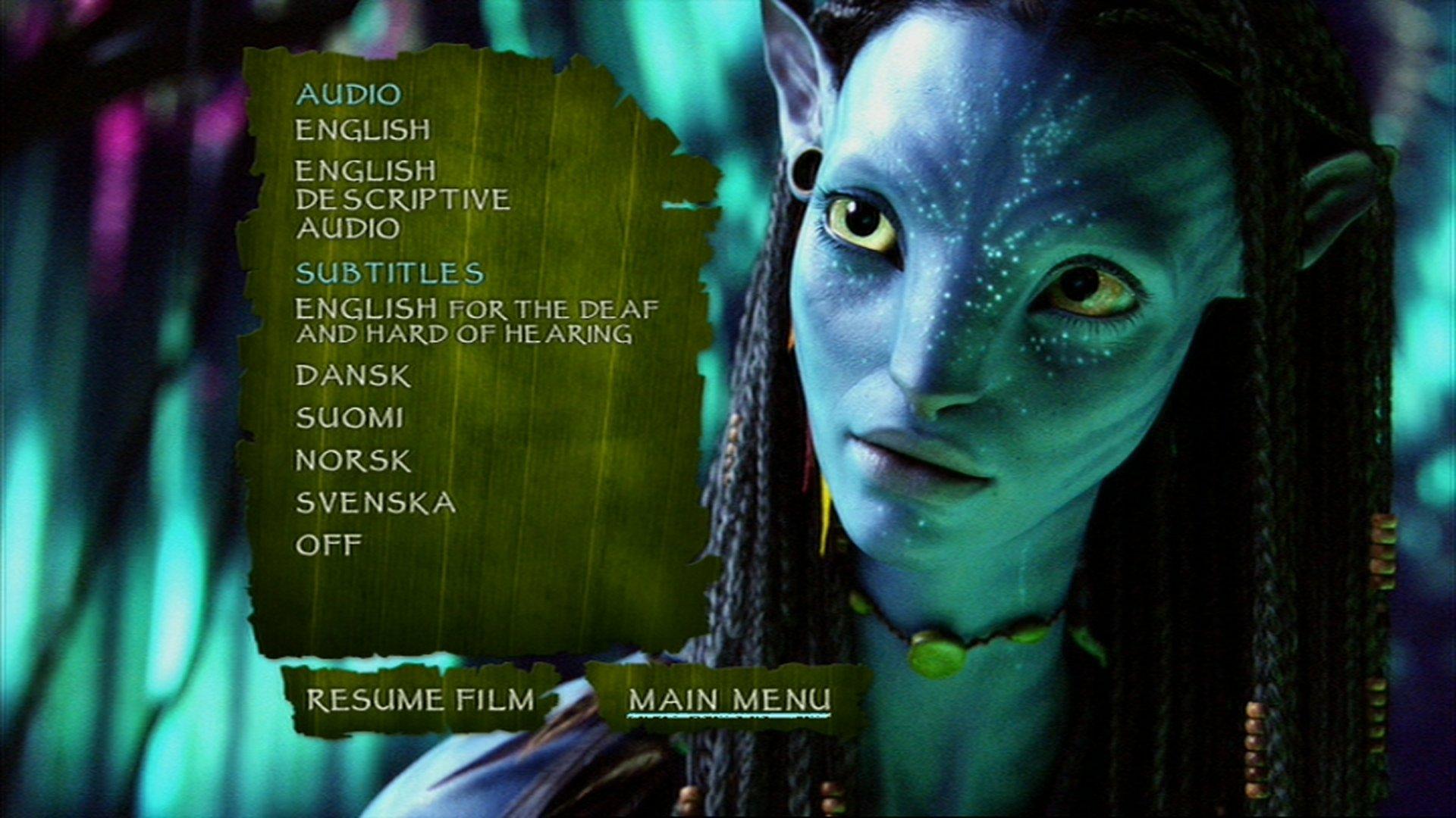 avatar with english subtitles