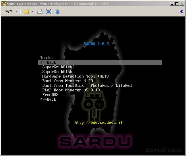 Boot Disks: UBCD4Win and SARDU