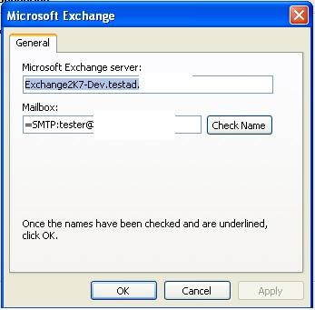 Outlook 2010 error.