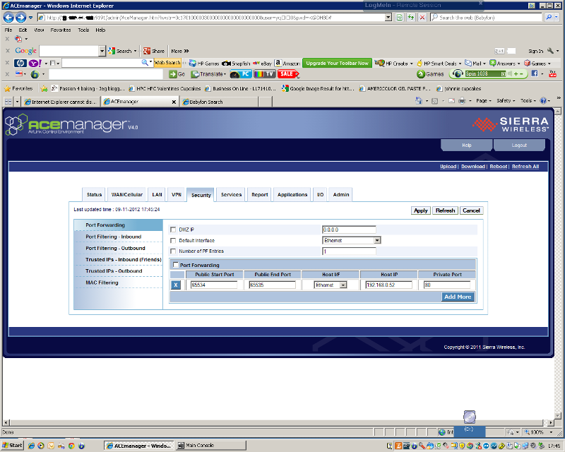 port forward