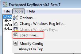 Enchanted Keyfinder - Load Hive