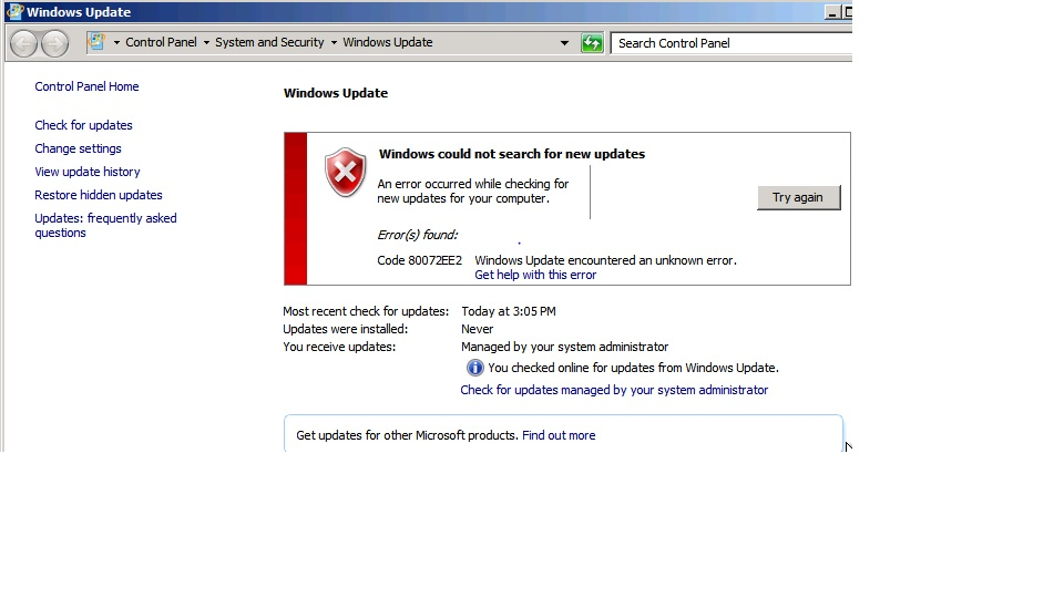 SOLUTION] WSUS report not getting generated