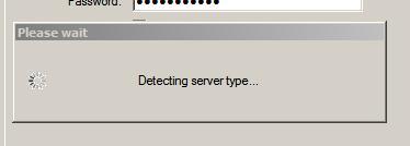 Detecting server type