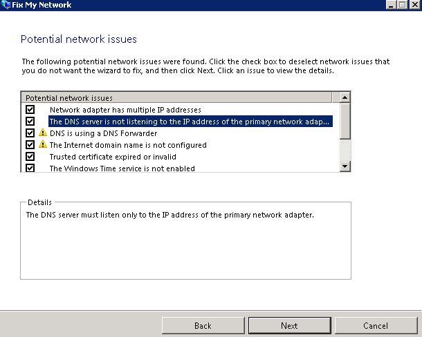 Fix my Network
