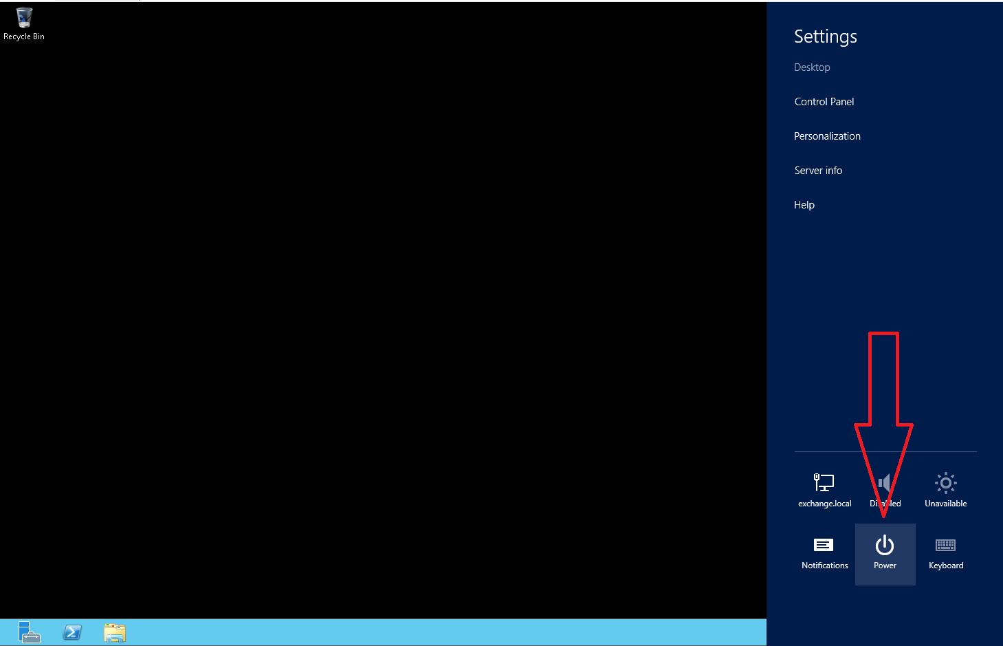 Windows Server 2012 Restart / Shutdown Methods
