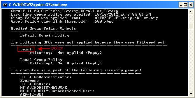 Printer Deployment via GPP/GPO