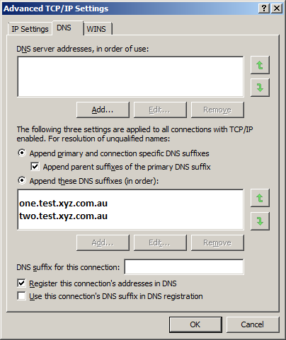Windows Batch file to get the FQDN's