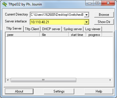 Backing up Configuration settings HP-ProCurve switches'