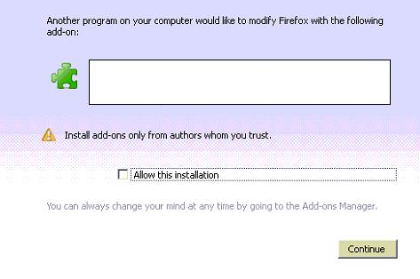 How to install firefox addon silently