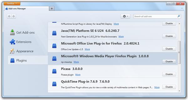 Download activex windows media player.