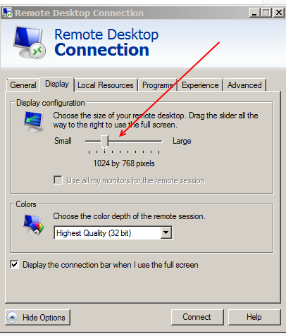 Remote Desktop Session Issue